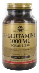 Solgar L-Glutamin 1000 mg Freiform 60 Tabletten