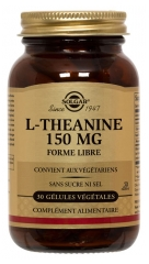 Solgar L-Theanine 150mg 30 Vegetable Capsules