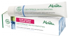 Melvita Dentifrice Dents Blanches Lot de 2 x 75 ml