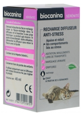 Biocanina Recharge Diffuseur Anti-Stress Chat 45 ml