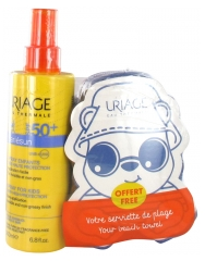 Uriage Bariésun Enfants Spray SPF 50+ 200 ml + Serviette de Plage Offerte