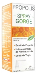 Les 3 Chênes Propolis Throat Spray eases and soothes 25ml