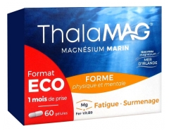 Thalamag Marine Magnesium Physical and Mental Form 60 Capsules