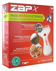 Visiomed Zap'x Electronic Anti-Lice Comb VM-X100