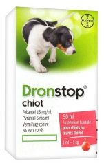 Bayer Dronstop Puppy Suspension Bebible 50 ml