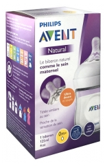 Avent Natural Baby Bottle 125ml 0 Months +