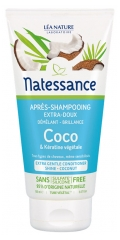 Natessance Extra-Gentle Conditioner Coconut and Botanical Keratin 150ml