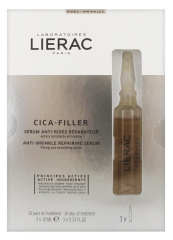 Lierac Cica-Filler Anti-Wrinkle Repairing Serum 3 Phials x 10ml