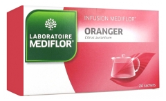 Médiflor Infusion Orange-tree 24 Sachets