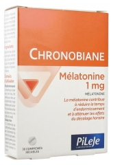 Pileje Chronobiane Melatonin 1mg 30 Tablets
