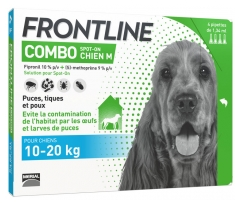 Frontline Combo Dog Size M (10-20kg) 4 Pipettes