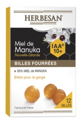 Herbesan Manuka Honey Filled Balls IAA 10+ 12 Balls