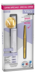 Vitry Toni'Cils Pro Expert 2 in 1 11ml + Golden Tweezers Free