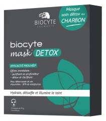 Biocyte Mask Detox Charcoal 4 Masks