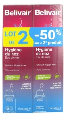 Belivair Nose Hygiene Sea Water Spray Set de 2 x 125 ml