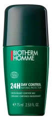 Biotherm Homme Day Control Natural Protect 24Stdn Deodorant Roll-On 75 ml