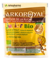 Arkopharma Arko Royal Treasure of the Hive Royal Jelly Premium Quality Organic Junior 20 Gums