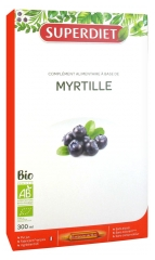 Super Diet Myrtille Bio 20 Ampoules