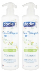 Dodie 3 in 1 Cleansing Water 2 x 500ml