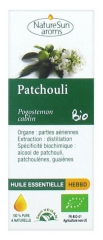 NatureSun Aroms Organic Essential Oil Patchouli (Pogostemon Cablin) 10ml