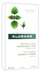 Klorane Seboregulating Treatment Shampoo with Nettle Extract 200ml