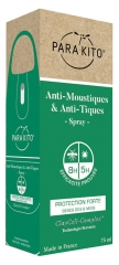 Parakito Anti-Mosquitoes & Anti-Ticks Spray Strong Protection 75ml
