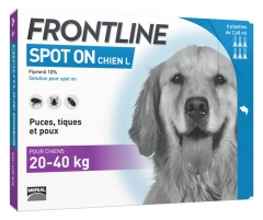 Frontline Spot-On Dog Size L 6 Pipettes