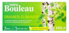 Milical Extra Bouleau Drainer-Éliminer 7 Doses