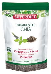 Super Diet Organic Chia Seeds 200g