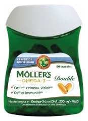 Möller's Omega-3 Double 60 Capsules
