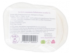 Oh Qu'il est bio Set of 6 Washable Nursing Cushions Tamaño 2