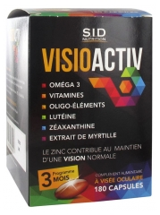 S.I.D Nutrition VisioActiv 180 Capsules