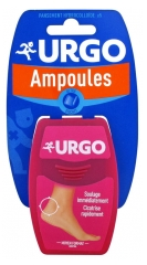 Urgo Ampoules Traitement Talon 5 Pansements Gel