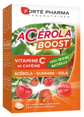 Forté Pharma Acérola Boost 30 Tablets To Crunch