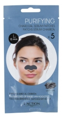 L'Action Paris Charcoal Sebum Patches 5 Strips