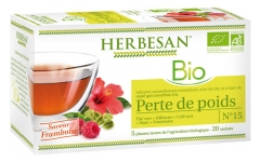 Herbesan Infusion Bio Weight Loss 20 Sachets