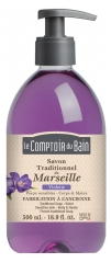 Le Comptoir du Bain Violet Marseille Traditional Soap 500ml