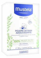 Mustela Softening Bath Powder 180g