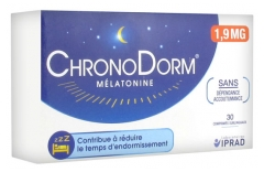 ChronoDorm Mélatonine 1,9 mg 30 Comprimés Sublinguaux