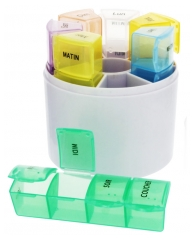 Estipharm Round 7 Days Pill Organizer