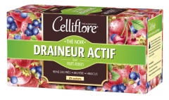 Celliflore Active Draineur Black Tea 25 Sachets