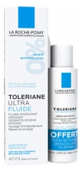 La Roche Posay Tolériane Ultra Fluid 40ml + Free Dermo-Cleanser 50ml