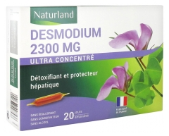 Naturland Desmodium 2300 mg 20 Ampoules Buvables de 10 ml