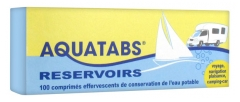 Aquatabs Reservoirs 100 Effervescent Tablets