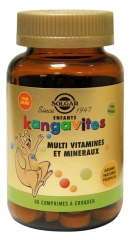 Solgar Kangavites Natural Tropical Complete Multivitamin & Mineral 60 Chewable Tablets