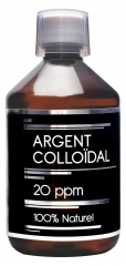 Nutrivie Argent Colloïdal 20 ppm 100% Naturel 500 ml