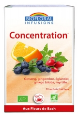 Biofloral Infusions Concentration Bio 20 Sachets