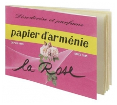 Papier d'Armenie The La Rose Booklet