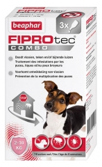 Beaphar Fiprotec Combo Spot-on Solution Dogs 2-10 kg 3 Pipettes of 0,67ml