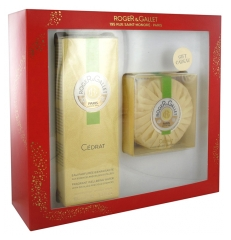 Roger & Gallet Citron Set Fragranced Well-Being Water 100ml + Perfumed Soap 100g Free